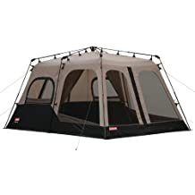 Coleman 2000018295 8-Person Instant Tent, Black (14x10 Feet)