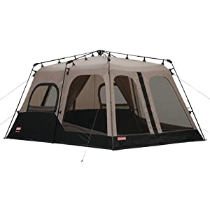 2. Coleman 2000018295 8-Person Instant Tent