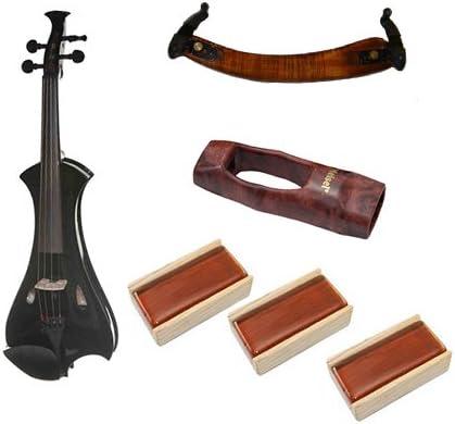Meisel violín eléctrico Combo Pack w/accesorios (negro): Amazon.es: Instrumentos musicales