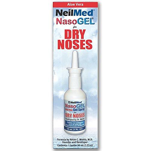 NeilMed Nasogel Drip Free Gel Spray, 1 Fluid Ounce (Pack of 2) by NeilMed