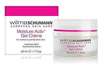 WILMA SCHUMANN Moisture Activ Gel Cr me – Hydrating Antioxidant Moisturizer formulated to Protect your skin from Environmental Damage 1.7 oz 50 ml