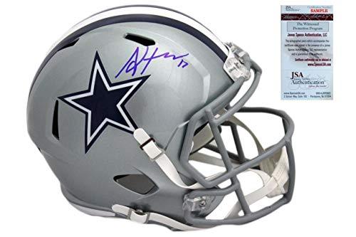 a78862902 Allen Hurns Signed Helmet - Full Size Witnessed - JSA Certified - Autographed  NFL Helmets