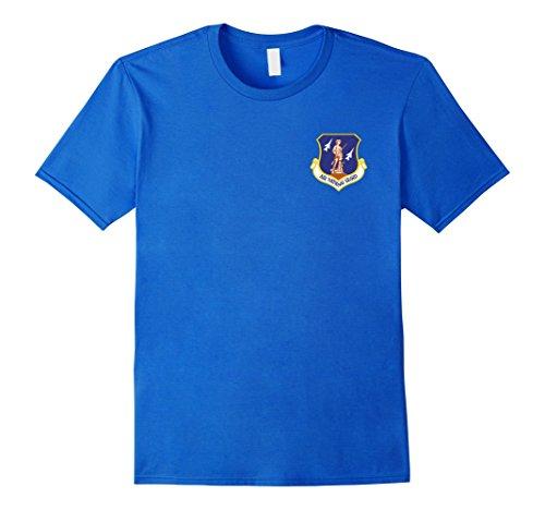 Mens AIR NATIONAL GUARD LOGO T-SHIRTS Medium Royal Blue