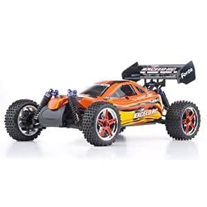 1/10 2.4Ghz Exceed RC Forza .18 Engine RTR Nitro Powered Off Road Buggy Baha RedREQUIRED TO RUN and SOLD SEPARATELY: STARTER KIT