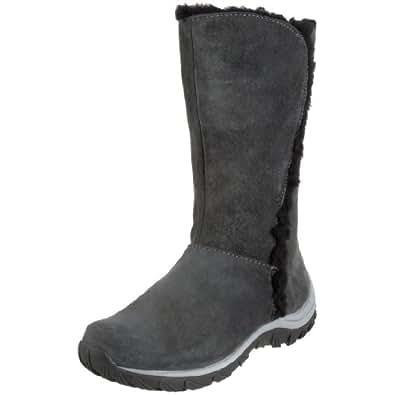 Patagonia Women's Lugano Waterproof Winter Boot,Forge Grey,5 M US