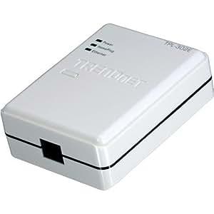 TRENDnet 200 Mbps Powerline AV Fast Ethernet Adapter TPL-302E (White)