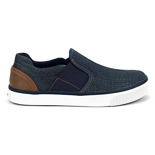 Pictures of Geox Kids Boy's Kilwi 10 (Little UOMO Blue/Light Brown 1