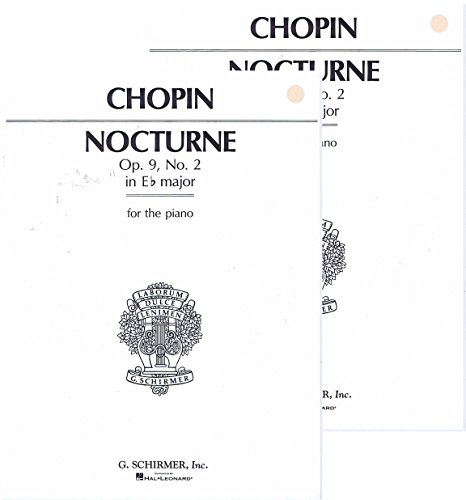 Nocturne Op.9, No.2 in Eb Major for piano by Chopin (Nocturne Op 9 No 2 Piano Sheet)
