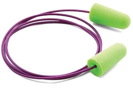 Moldex pura-fit 6900 con cable tapones para los oídos desechables dispensador de, verde