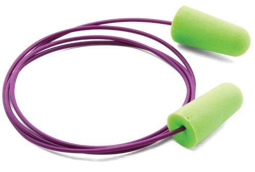 Moldex 6900 Pura Fit Corded Disposable Ear Plugs  Green   100 Per Dispenser
