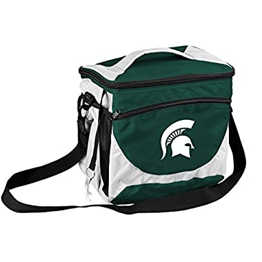 NCAA Michigan State Spartans 24 Can Cooler, Team Color, Small
