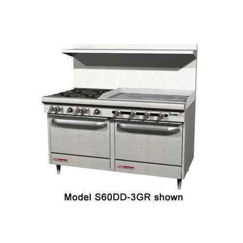 South Bend Commercial Range - Southbend S60AC-2TL S-Series 60