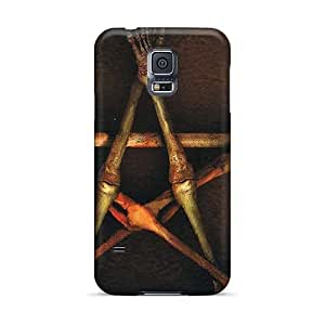Samsung Galaxy S5 Xmp18151sdyJ Custom HD Fear Factory Band Skin Great Hard Cell-phone Cases -AlissaDubois