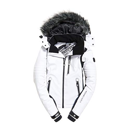 Ski De Piste Veste White Blanc Sleek Superdry Noir wqZT5vEv