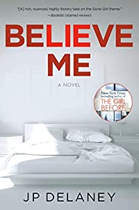 Believe Me by JP Delaney ebook deal