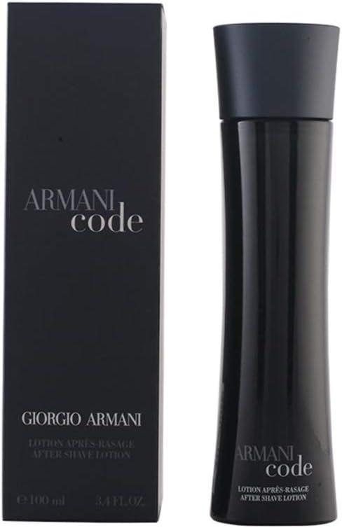 Armani Code Para hombre Loción para después del afeitado, 100 ml
