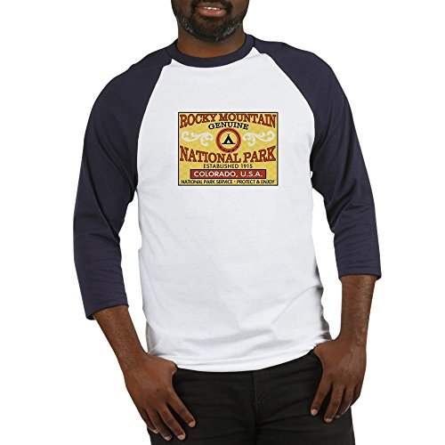 CafePress - Rocky Mountain National Park - Cotton Baseball Jersey, 3/4 Raglan Sleeve Shirt (Rockies Road Jersey)