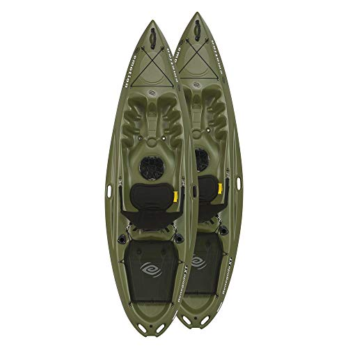 Lifetime Sit On Top Kayak, Renegade Emotion 10ft - Olive Set of 2