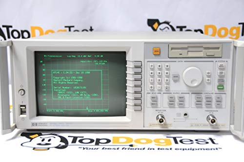 Vector Network Analyzer Agilent 8714C-100-1C2-1DA-1E1-1F7 Frequency Range 300kHz to 3GHz -