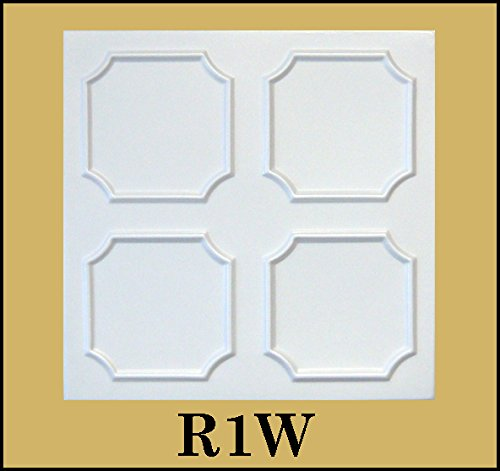 tin-look-glue-up-ceiling-tiles-20x20-styrofoam-extruded-polystyrene-r1w-lot-of-8