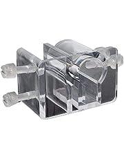 SODIAL Tubo per Acquario Acrilico Tubo di Fissaggio per Aria Morsetto per Clip Supporto per Filtro per Pesci in Vetro Filtrazione Supporto per Tubo per Acqua
