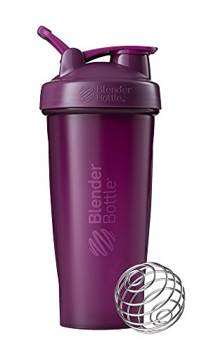 BlenderBottle Classic Loop Top Shaker Bottle, 28-Ounce, Plum/Plum 28 Ounce Blender Bottle