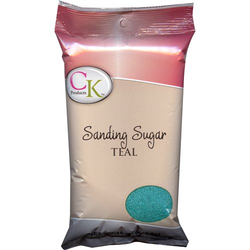 Turquoise Glitter Toms - CK Products No.1 Sanding Sugar,