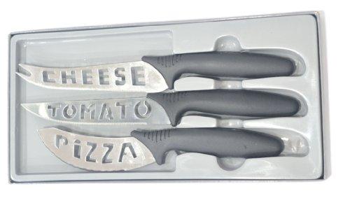 LacuziniPlastic Handle Knife Set 3 Pieces