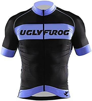 Ugly Frog – Maillot de ciclismo para hombre Manga Corta Camiseta ...