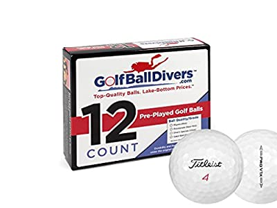 Titleist PROV1X 2016-VALUE AAA Grade-Recycled Used Golf BALLS-12 Pack