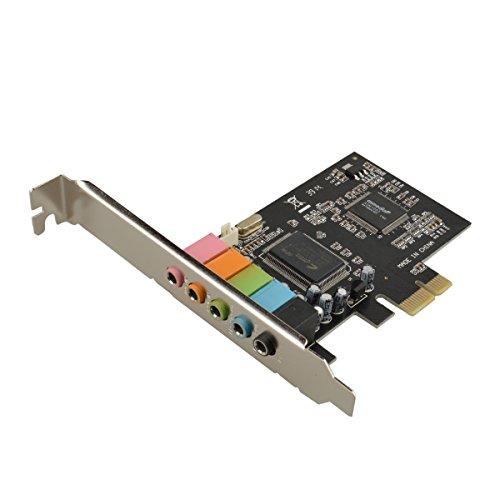 U-Mest® PCI Express 5.1 PC Sound Card 6 Channel Surround 3D