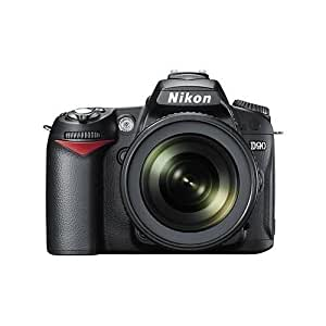 Nikon D90 12.3MP DX-Format CMOS Digital SLR Camera with 18-105 mm f/3.5-5.6G ED AF-S VR DX Nikkor Zoom Lens (OLD MODEL)