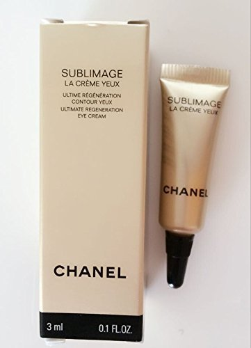 SUBLIMAGE LA CRME YEUX ULTIMATE REGENERATION EYE CREAM travel size 3ml/0.1oz by Sublimage - 0.1% Lotion