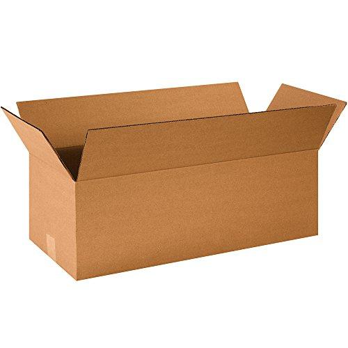 "Aviditi 24108 Corrugated Boxes, Long 24"" x 10"" x 8"", Kraft (Pack of 25) from Aviditi"
