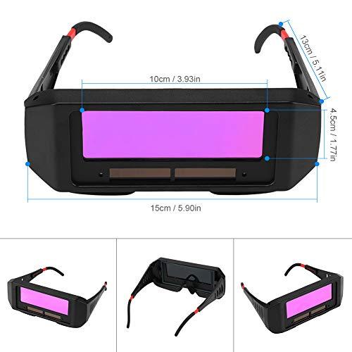 Gafas de soldadura de oscurecimiento automático solar, gafas de soldadura TIG MIG MMA de seguridad Soldador Gafas: Amazon.es: Bricolaje y herramientas