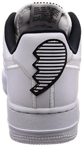 Nike Womens Wmns Air Force 1 07 Se Lx, Bianco / Nero Bianco / Nero