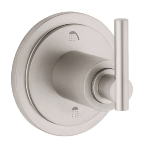 Grohe 19 166 AV0 Atrio 3-Port Diverter Valve Trim, Infinity Satin Nickel