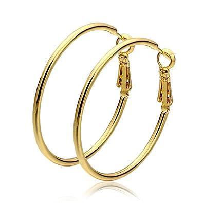 bons plans 2017 juste prix dessin de mode Mes-Bijoux-Bracelets Boucles d'oreilles créole Doré or jaune ...