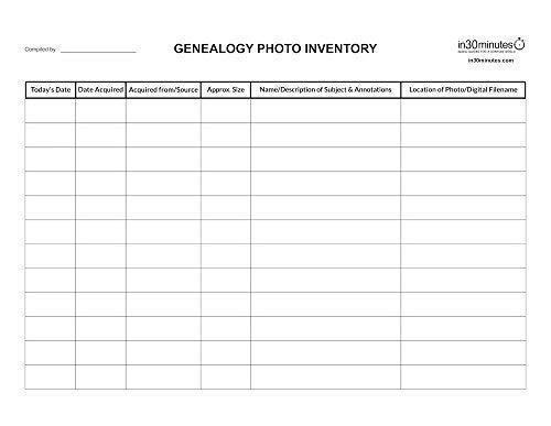by EasyGenie Blank Genealogy Forms Bundle 50