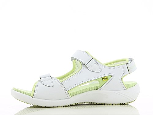BEST MEDICAL Damen Berufsschuh Sandale, Weiß