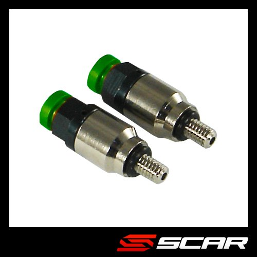 (SCAR S8005 FORK AIR BLEEDER SHOWA/KAYA GREEN SCAR)