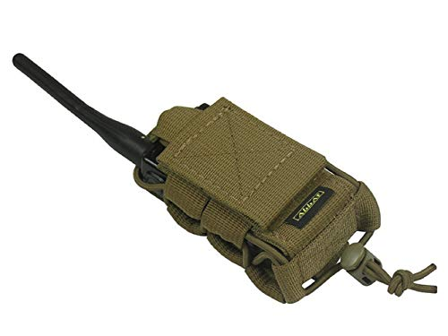- tactic.world M.O.L.L.E Pouch Bag Radio Phone GPS (Coyote Brown)