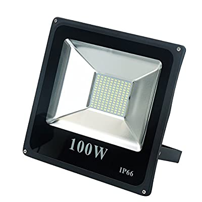 Julitech 50W-200W LED Flood Light, Waterproof IP65, 5800Lm, Super Bright Outdoor LED Flood Lights For Playground, Garage, Garden, Lawn And Yard Model