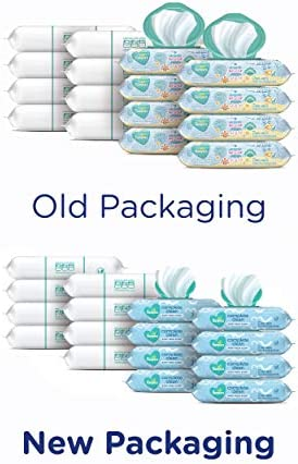41ulwaPSEbL. AC - Baby Wipes, Pampers Complete Clean Scented Baby Diaper Wipes, 8X Pop-Top Packs And 8 Refill Packs For Dispenser Tub, 1152 Total Wipes (Packaging May Vary)