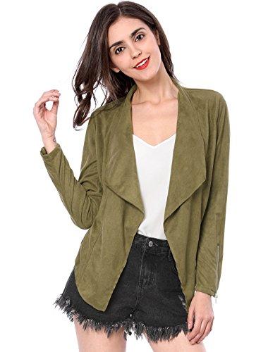 Allegra Manches K Green Femme Longues Blouson 8E8dqwr