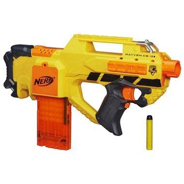 amazon com nerf n strike elite rayven stinger blaster toys games