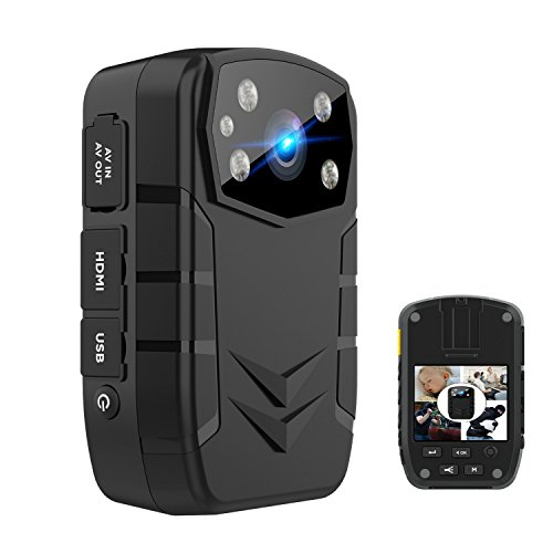 Yilutong 1296P HD Police Body Camera for Law Enforcement With 2 Inch Display Night Vision by Yilutong