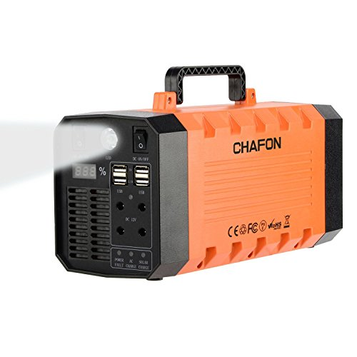 Chafon-CF-UPS018-346WH-Portable-UPS-Uninterrupted-Power-SupplyPure-Sine-Wave-Lithium-Battery-with-Car-Jump-StarterGrounded-US-Standard-Outlets