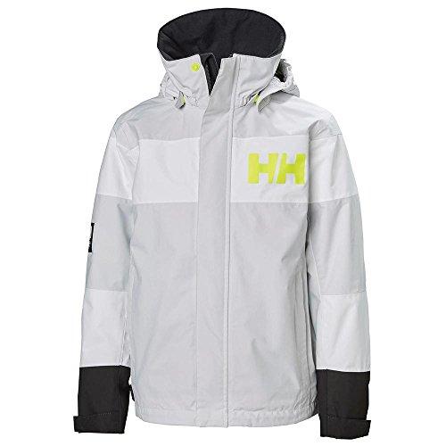 Nimbus Jacket - Helly Hansen Junior Salt Port Jacket, Nimbus Cloud, Size 10