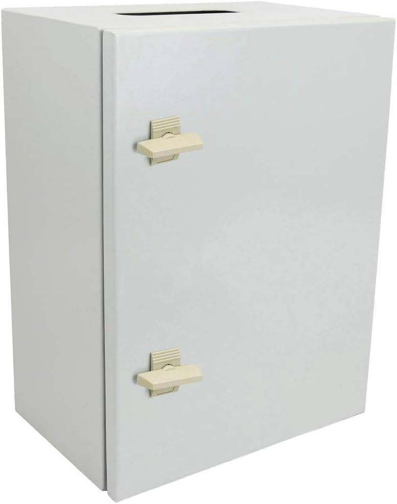 BeMatik - Caja de distribución eléctrica metálica con protección IP65 para fijación a Pared 600x400x300mm: Amazon.es: Electrónica